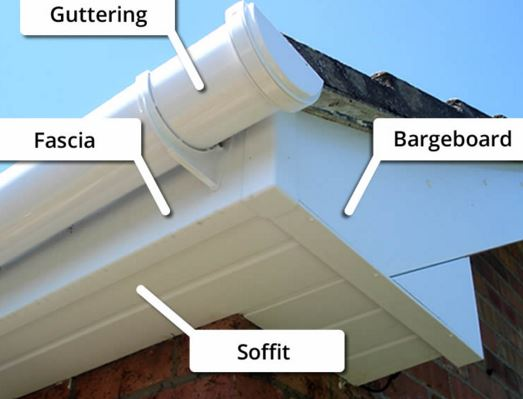 Fascia Replacement Or Repair Gutter Services In